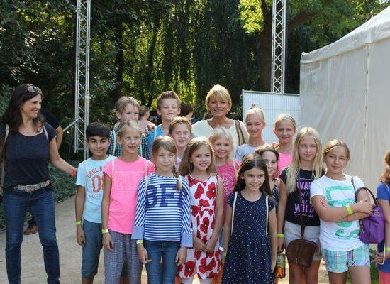 Kinderchor beim Bürgerfest